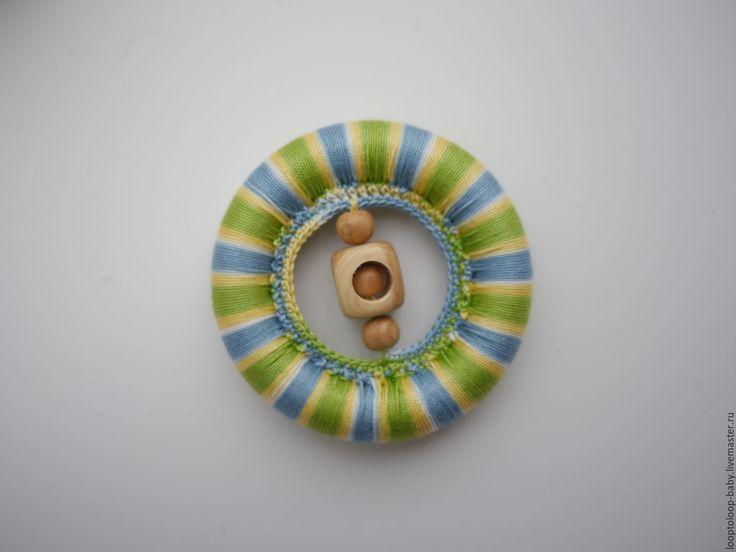 Купить Прорезыватель, грызунок - комбинированный, прорезыватель, прорезыватель для зубов, прорезыватель деревянный, грызунок, грызйнок, деревянный