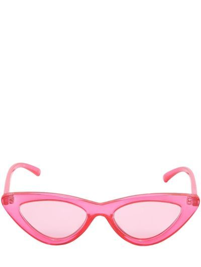 LE SPECS, The last lolita cat-eye sunglasses, Pink, Luisaviaroma - Lens   51mm Bridge  18mm Temple  150mm. Pink acetate frames 23acf10832c2