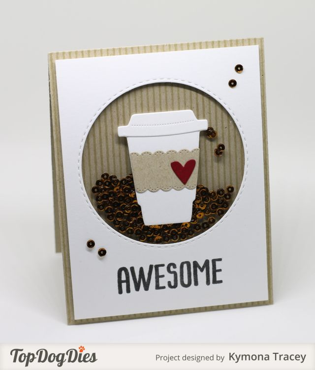 One of the cutest shaker cards I have seen.