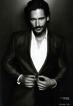 as my sister always says, hot guy from True Blood. Joe Manganiello