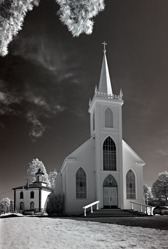Bodega Bay Church - Bodega Bay, California