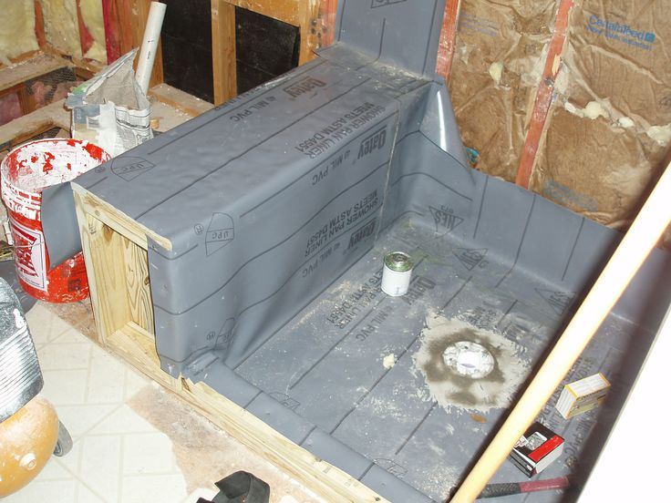 1000 Images About Installing Tile Shower Stall On Pinterest Shower Pan Glass Block