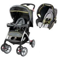 Baby Relax Emoji Black/Grey Wandelwagen Reissysteem incl Autostoel