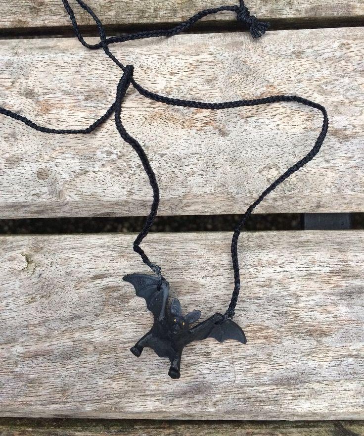 Schleichtierkette Fledermäuse ohne Perlen, für Jungs