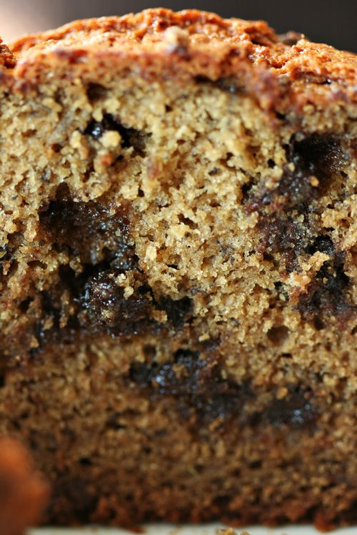 Gluten-free Chocolate Chip Banana Bread using Bob's Red Mill Gluten Free All Purchase Baking Flour - perfect for nut free friends :)