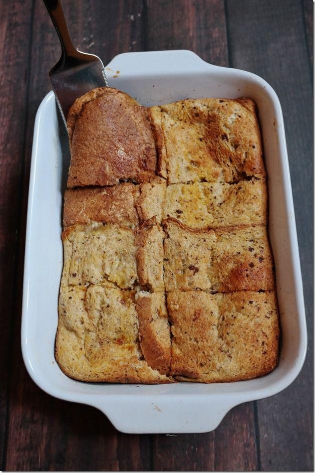 Peanut Butter and Pumpkin-Stuffed French Toast   Breakfast ...