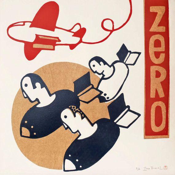 zero por ARTeFAKTshop en Etsy