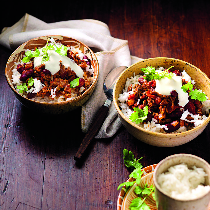 This Autumn dish will be sure to warm you up. #ChilliConCarne
