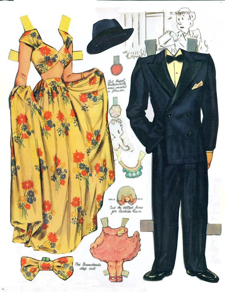 blondie 1941 reconstructed free paper dolls at arielle gabriels the international paper doll society
