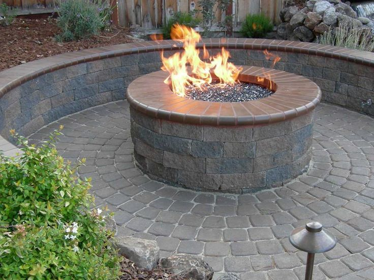 19 best images about Brick Fire Pits on Pinterest | Fire ...