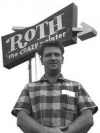 crazy painter...Ed Roth