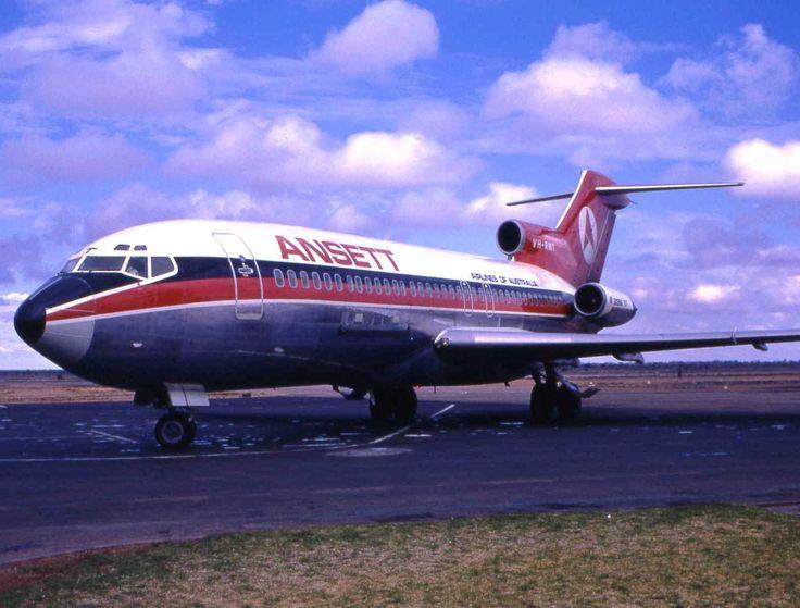 Ansett Airlines Of Australia Boeing 727-77C (VH-RMT)