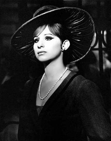 """Barbara Streisand, 1942-               Here she is appearing in Funny Girl.  Barbara Streisand won her first academy award for """"Funny Girl"""" 1969,"""" Evergreen""""  was her 2nd academy award, 1977   She also won 8 Grammy, 5 Emmy a special Tony award. She also won an American film institute award and a Peabody award. She is 1 of the very few entertainers who have won an Oscar, Emmy and Tony award."""
