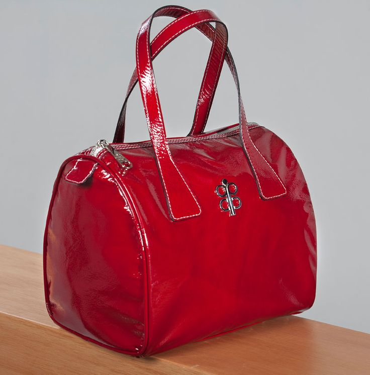 #Red #Leather #Handbag #original #isabellalatouche #design #new #collection