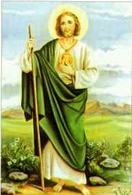 St. Jude pray for us. Most holy Apostle, St. Jude, faithful servant and friend of Jesus, the Church honors and invokes you universally, as the patron of difficult cases, of things almost despaired of, Pray for me, Read more: http://www.ewtn.com/devotionals/novena/jude.htm#ixzz1qKWWKezl