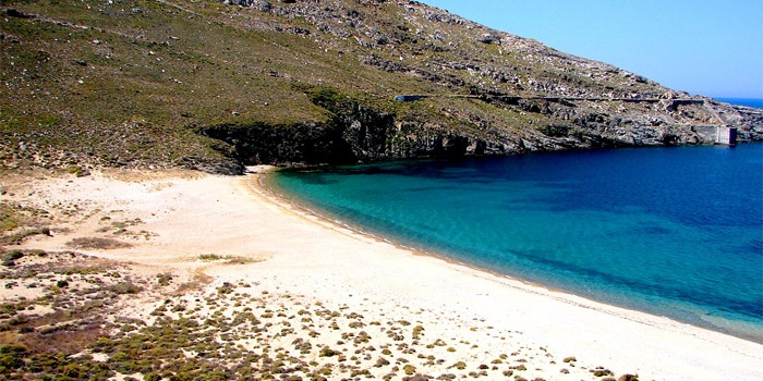 Ganema Beach in Serifos Island, Greece
