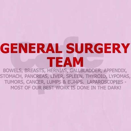 General Surgery Team Women's Nightshirt