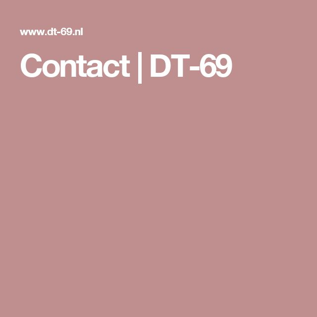 Contact | DT-69