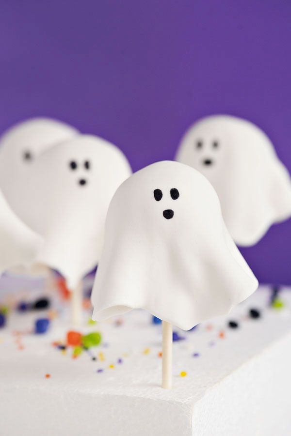 Ghost Cake Pops | Sprinkles for Breakfast