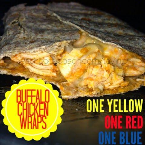 Beachbody Coach Taylor Nichols: Buffalo Chicken Wraps (21 Day Fix Approved Recipe!)