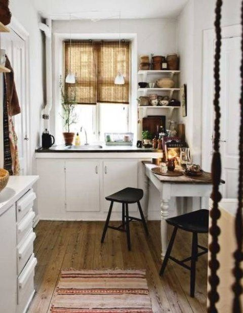We've rounded up 10 kitchens that are rustic, warm, dark, cozy — the perfect kitchen for the cozy cottage of your dreams.