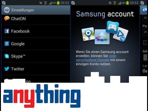 Make A Samsung Account On Samsung Smartphone