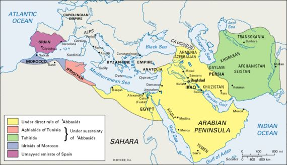Abbasid-  Third of the Islamic caliphates to succeed the Islamic prophet Muhammad. Abbasid dynasty descended from Muhammad's youngest uncle, Abbas ibn Abd al-Muttalib.