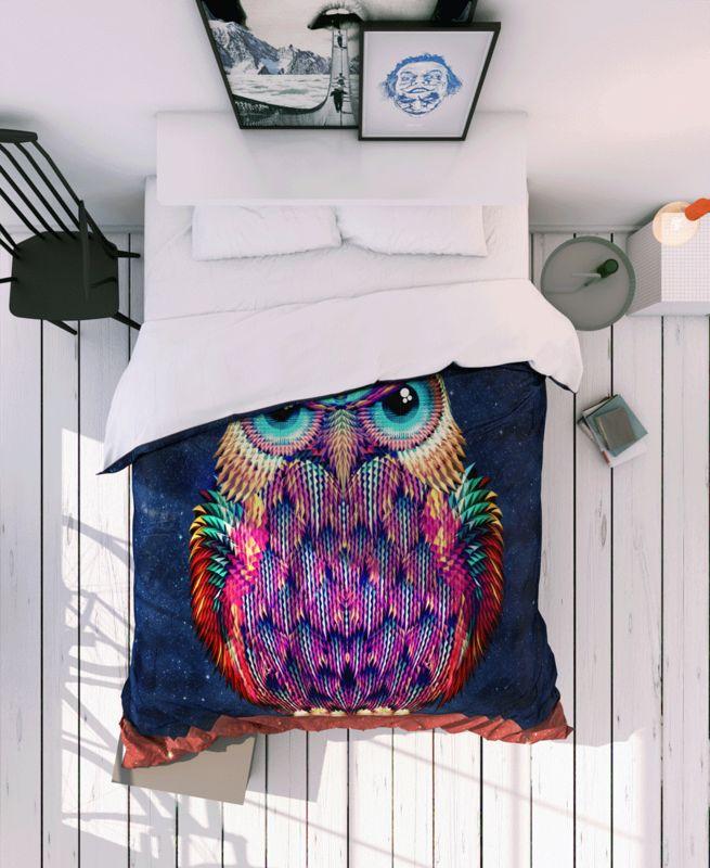 Owl 2 en Linge de lit