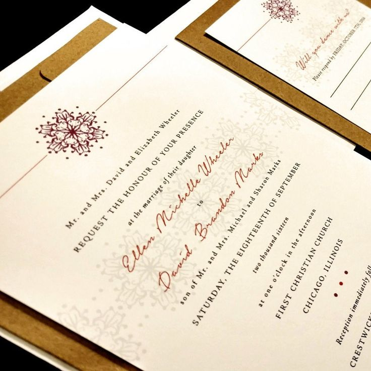 25+ Best Ideas About Unique Wedding Invitations On