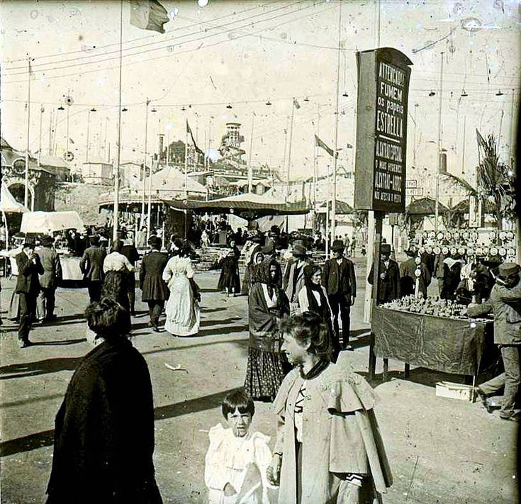Parque Eduardo VII, Feira de Agosto, 1911