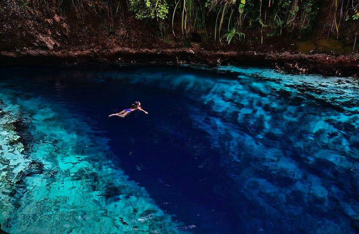 Enchanted River, Suriago, Phillipines