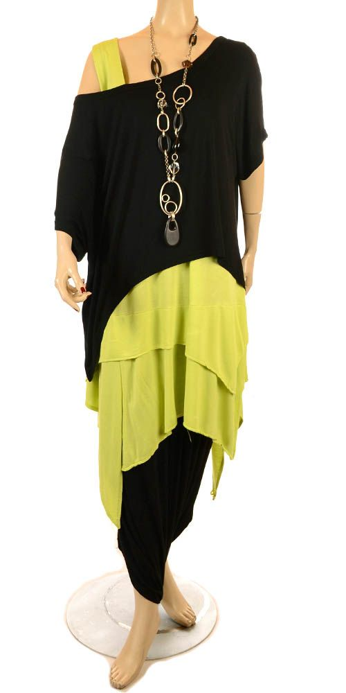 Mat Funky Multiwear Black Skirt/Dress - Summer 2013-MAT, lagenlook, womens plus…  Check out our collection of Plus size Dresses http://plussizeshop.org/index.php/product-category/dresses/
