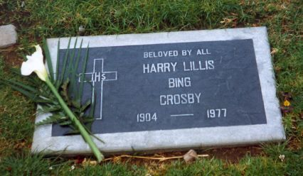 Bing CrosbyFamous Graves, Bing Crosby, Famous People'S, Actors Actresses, Crosby Singer Actor, Rest Places, Famous Rest, People'S Graves, Graves Stones