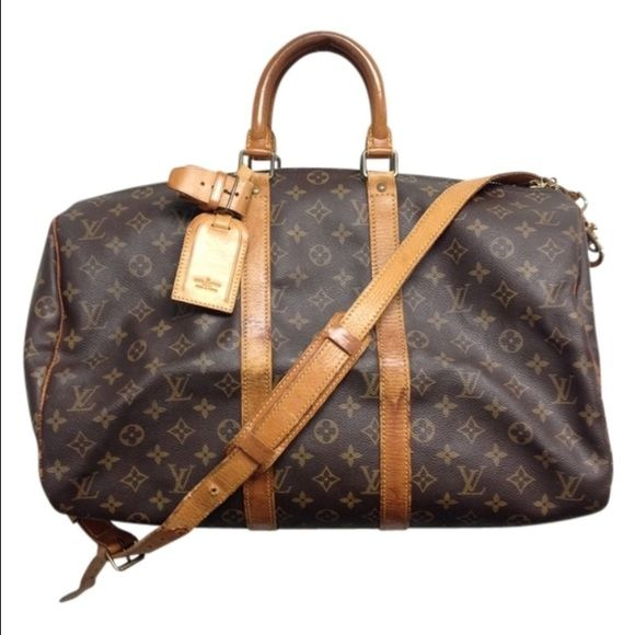 Vintage Louis Vuitton keepall bandoulière 45 keepall bandoulière 45 very nice condition looking for a bigger weekend bag Louis Vuitton Bags Travel Bags