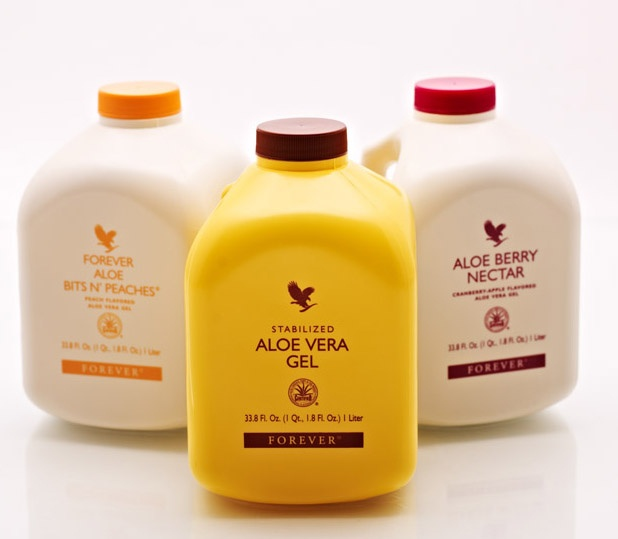 forever aloe vera gel and two flavours bits n 39 peaches and berry nectar. Black Bedroom Furniture Sets. Home Design Ideas