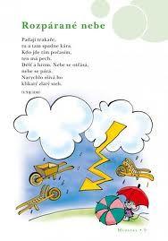 básničky pro děti