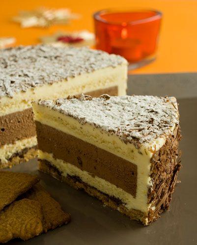 Eierlikör-Rezept: Weihnachtstorte mit Schokolade und Eierlikör ''VERPOORTEN-Schokoladen-Weihnachtstorte''