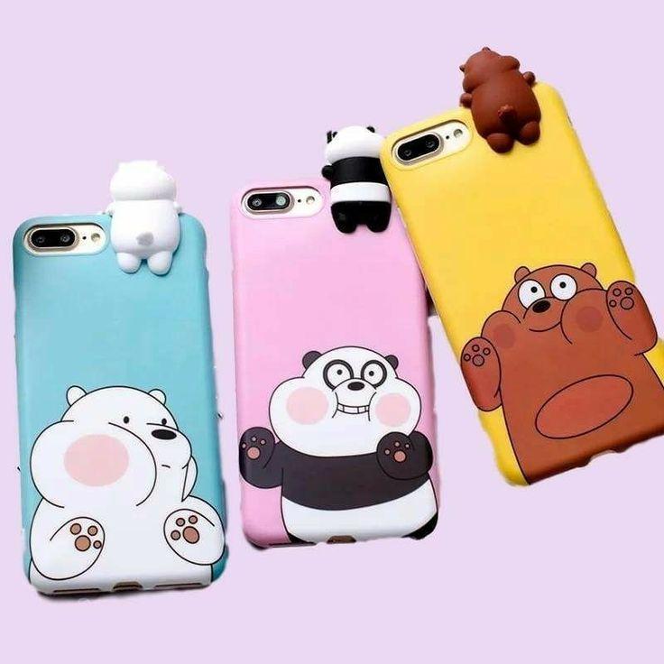Ursos sem Curso Capinha de celular | Ursos Sem Curso de 2019 | Pinterest | Diy capa de celular, Capas para telefone e Capas para tumblr