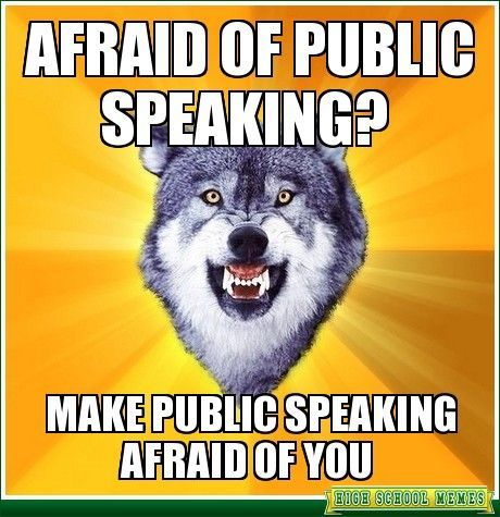 Get over your fear of #publicspeaking with 3 steps! http://www.extension.harvard.edu/hub/blog/extension-blog/3-tips-overcoming-fear-public-speaking