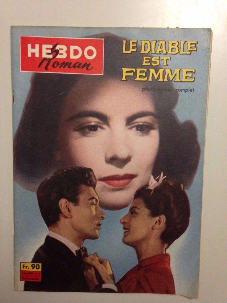 HEBDO ROMAN N°15 1959 LE DIABLE EST UNE FEMME / MARIE DEA - ROLLIN - CARETTE   eBay