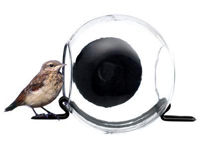 Fågelmatare med sugpropp