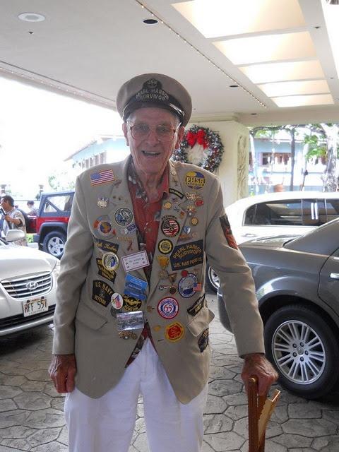 Survivor of Pearl Harbor.  God bless him.