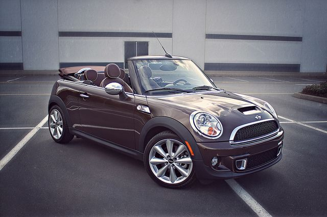 mmmm dream car!! 2011 MINI Cooper S Convertible - Hot Chocolate Brown