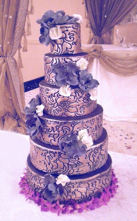 purple black and silver wedding cakes 143 best images about city amp confections wedding 18889