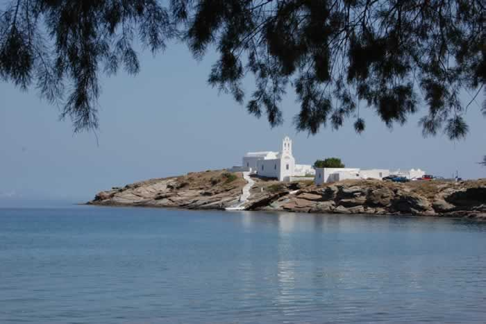 Tranquil waters around Sifnos