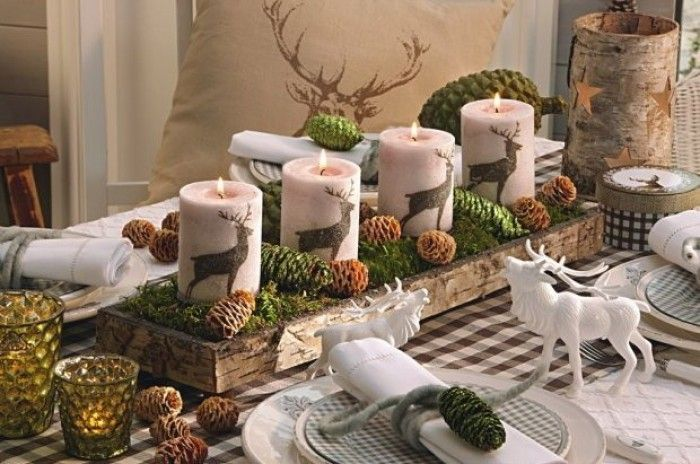 Decoratie ideetjes voor kerst...