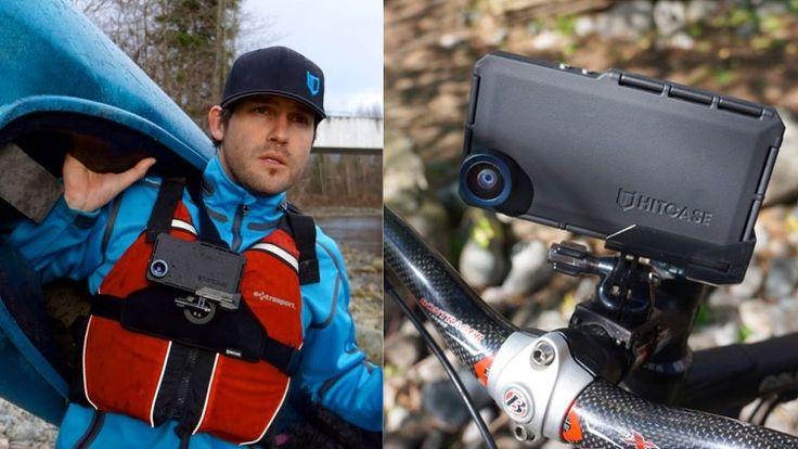 Transformez votre iPhone en GoPro avec ces étuis, lentilles et attaches…
