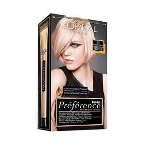 L'Oreal Paris Preference Feria 92 Iridescent Blonde Long-lasting Hair Color