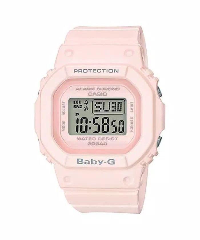 3e9fb8099 Jam Tangan Wanita Casio Baby-G BGD560 Pink Rubber Karet Original Murah  Harga Rp. 1.280.000 Hub. - No Hp/Wa : 081293658909 - Pin BBM : VIKAR830  Case / bezel ...