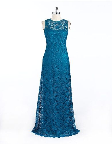 Teal Lace Bridesmaid Dresses
